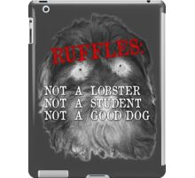 RUFFLES iPad Case/Skin