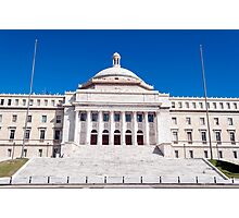Capitol of Puerto Rico. Photographic Print