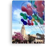 Carthay Circle Theater with Balloons Metal Print