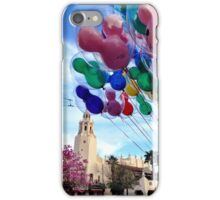 Carthay Circle Theater with Balloons iPhone Case/Skin