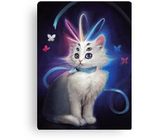 Buttons the Cat Canvas Print