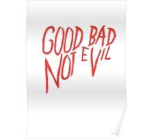 Not evvil Poster
