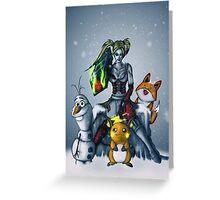 Team up Greeting Card