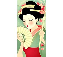 Geisha: Rose Photographic Print