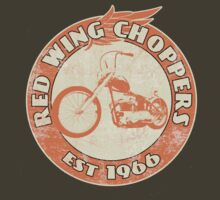 Red Wing Choppers by Steve Harvey