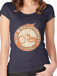 Red Wing Choppers Women's Fitted Scoop T-Shirt