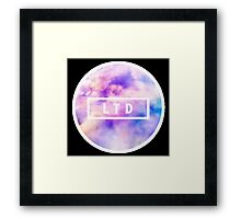 LTD - Living the Dream Framed Print