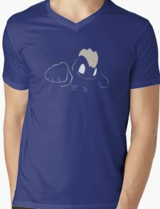 Machop Mens V-Neck T-Shirt