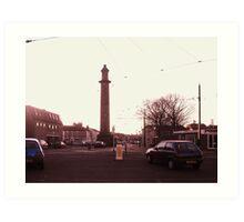 The Pharos Lighthouse. Fleetwood. Art Print