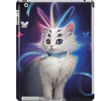 Buttons the Cat iPad Case/Skin