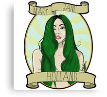 Mary Jane Holland  Canvas Print