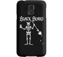 Black Beards Flag Samsung Galaxy Case/Skin