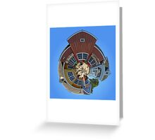 Planet Oxnard Harbor Houses Greeting Card