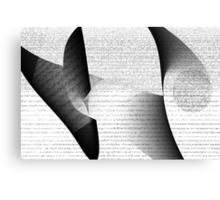 Database #3 Canvas Print