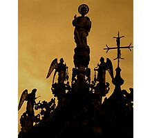 HOLY SILHOUETTE Photographic Print