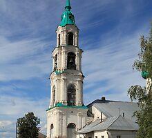 bell tower of the village Levashovo by mrivserg