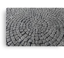 cobblestones Canvas Print