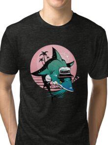 808 Sharks Tri-blend T-Shirt