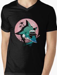 808 Sharks Mens V-Neck T-Shirt