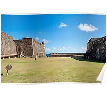 Castillo de San Cristobal. Poster