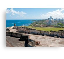 Old San Juan. Canvas Print