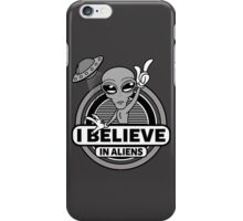 I Believe In Aliens iPhone Case/Skin