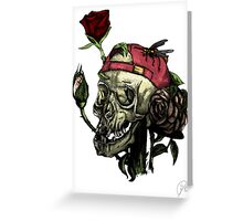 I invite you to my flower garden! Greeting Card
