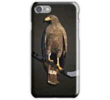 Polyhawk on Black iPhone Case/Skin