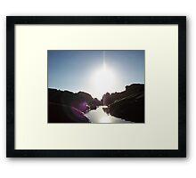 Mini - Ravine Framed Print