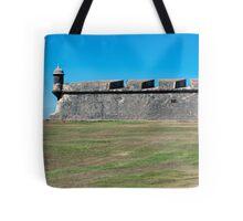 Castillo San Felipe del Morro. Tote Bag