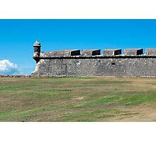 Castillo San Felipe del Morro. Photographic Print