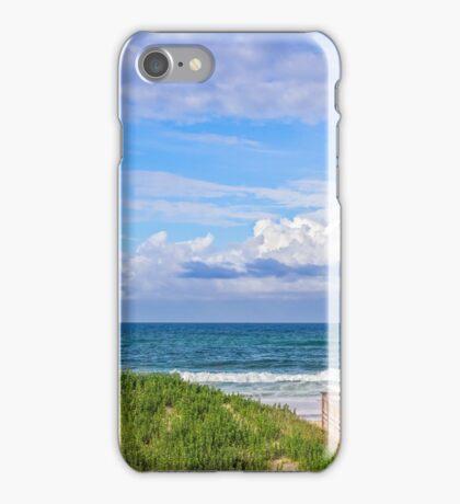 Ocean Beach Dunes iPhone Case/Skin
