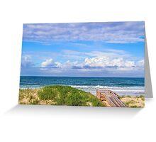 Ocean Beach Dunes Greeting Card