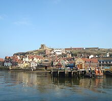 Whitby  Harbour by Matt Greenwood