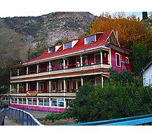Inn at Castle Rock Photographic Print