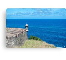 Castillo de San Cristobal. Canvas Print