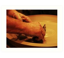 Ceramics. Art Print