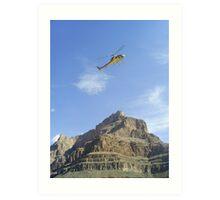 Flight Grand Canyon Art Print