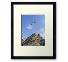 Flight Grand Canyon Framed Print