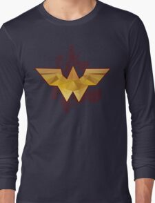 The Amazonian - Wonder Woman Long Sleeve T-Shirt