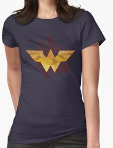 The Amazonian - Wonder Woman Womens Fitted T-Shirt