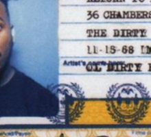 Ol Dirty Bastard - Return to the 36 Chambers: The Dirty Version Sticker
