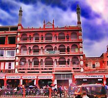 Jama Masjid (Mosque), Jaipur, India by vadim19