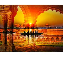 On the Waves of my Memory (India) Photographic Print