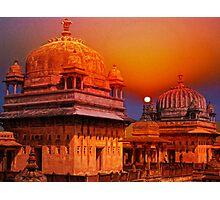 Palaces at Orchha, India Photographic Print