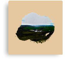 Eroded Composition | Nine Canvas Print