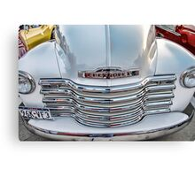 Chevy Pickup Classic Auto Series # 22 Canvas Print