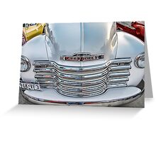 Chevy Pickup Classic Auto Series # 22 Greeting Card