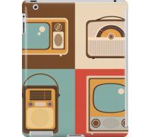 Retro technology iPad Case/Skin