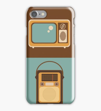 Retro technology iPhone Case/Skin